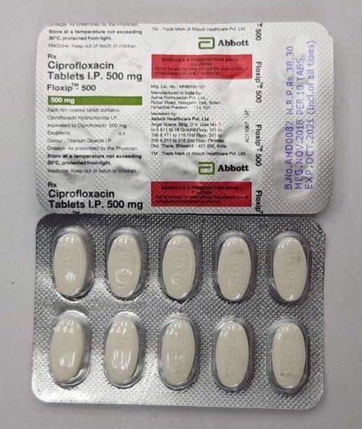 Buy Ciprofloxacin 500 Mg