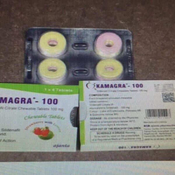 Kamagra Polo Tablets 100 Mg